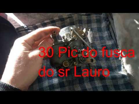 Ajcarburadores - H-30 PIC do Fusca do sr Lauro de - RS