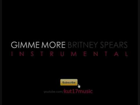 Gimme More Instrumental with and without vocals  Britney Spears  Mixcraft Remake