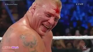 Brock Lesnar Vs The Undertaker Full Match SummerSlam 720p HD   77