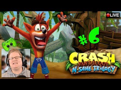 Piet zockt Crash Bandicoot live #6 | Crash Bandicoot N. Sane Trilogy: Crash Bandicoot [#PietStream]