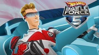 #2 Hot Wheels Battle Force 5 - Video Game - Gameplay - Videospiel - Game - Movie For Kids