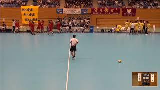2019年IH ハンドボール 男子 準々決勝 浦和学院(埼玉)VS 瓊浦(長崎)