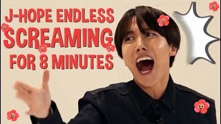 Video J-Hope Endless Screaming for 8 minutes #ARMYsHOPE download MP3, 3GP, MP4, WEBM, AVI, FLV Agustus 2018