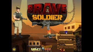 Brave Soldier (Shooting Game)