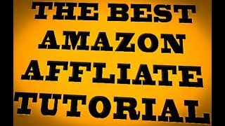 BEGINNERS GUIDE TO AMAZON AFFILIATE MARKETING
