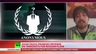 'War against ISIS': Anonymous promises revenge for A321 Sinai crash