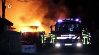 Twee chalets verwoest bij brand op camping Molenschot