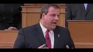 Governor Christie Puts Democrat Legislature On Notice
