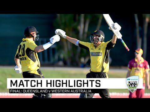 Shaun Marsh Ton Leads WA To Marsh Cup Title | Marsh One-Day Cup 2019