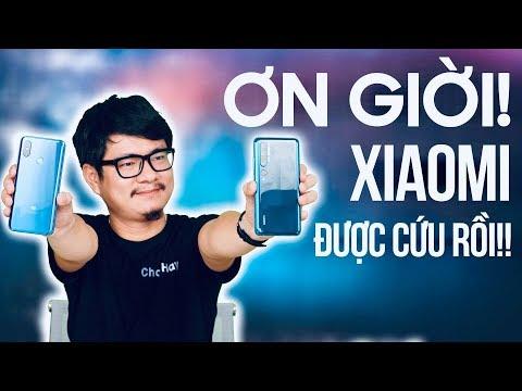 Ơn trời điện thoại Xiaomi và điện thoại TÀU được cứu rồi