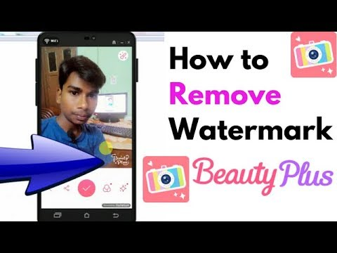 How to Remove Watermark On Beauty Plus Best Selfie apps (In Hindi)