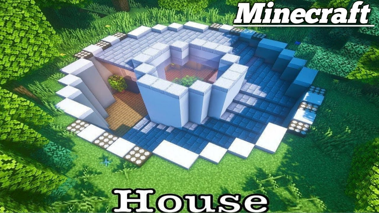 Minecraft builda house underground