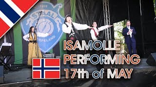 HEY HOORAY: ISAMOLLE ON 17TH of MAY