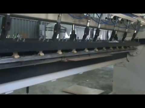 postforming laminate machine