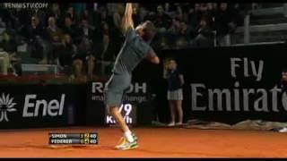 ATP Tennis- 5 Unbelievable Whiffs (2 by Federer!) (HD)