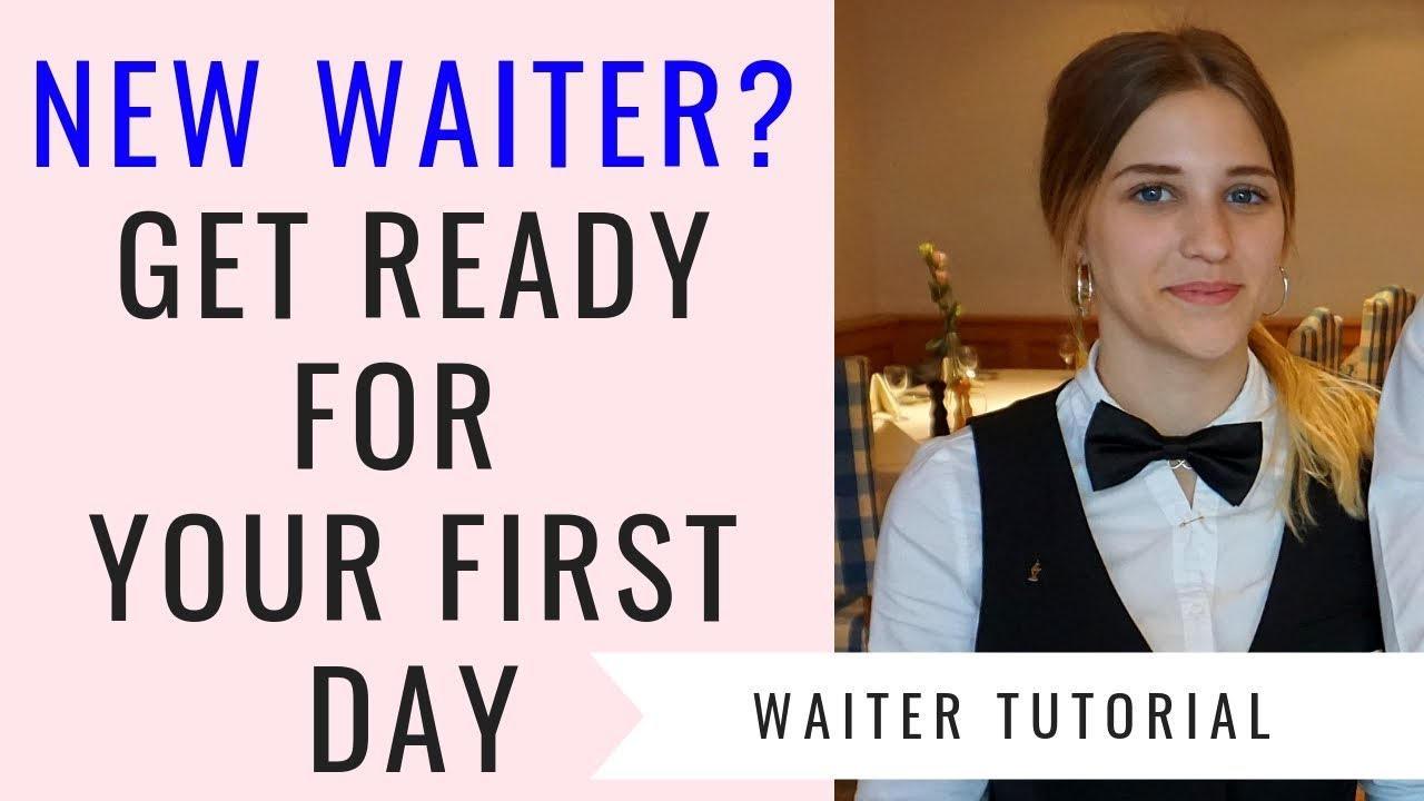 Download New waitress/waiter training! F&B Service for beginners! First day as a waitress. Food and Beverage!