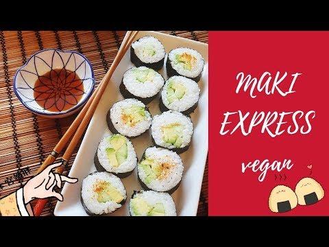 recette-vegan-🍣-maki-avocat-concombre-express