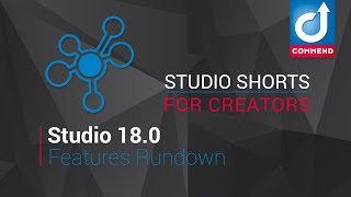 Studio Shorts - Creators - Studio 18.0 Features Rundown