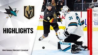 09/29/19 Condensed Game: Sharks @ Golden Knights