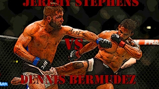 Jeremy Stephens vs Dennis Bermudez | Джереми Стивенс vs Деннис Бермудес | FIGHT HIGHTLIGHTS | HD