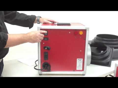 Ermator A600 and A1200 Hepa Air Scrubbers