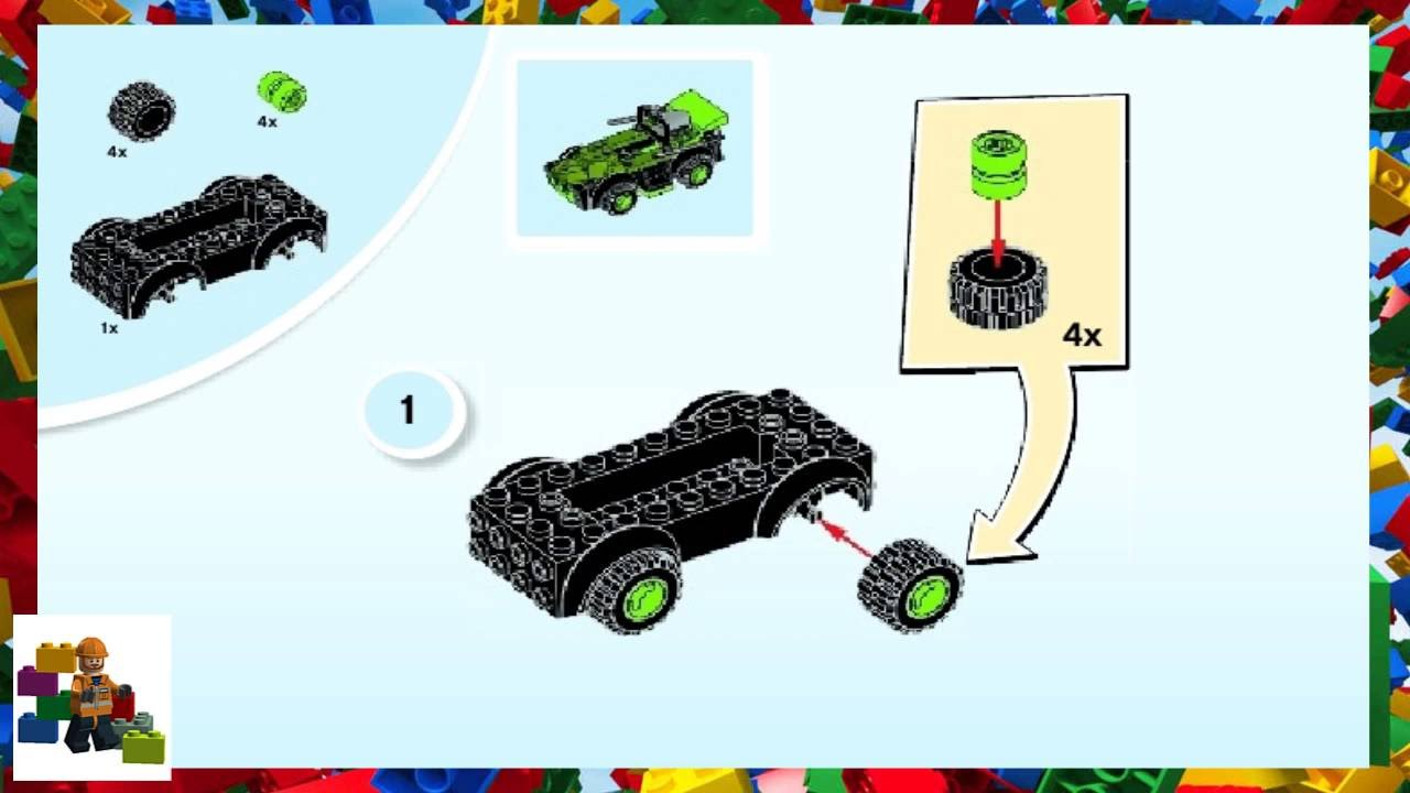 LEGO instructions - Juniors - 10669 - Turtle Lair - YouTube