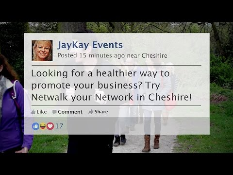 Networking in Cheshire with a difference!