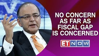 Arun Jaitley: No Concern As Far As Fiscal Gap Is Concerned