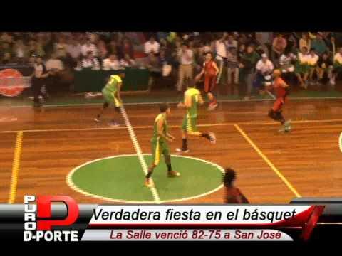 De la Salle 82-75 San José - Liga Nacional de Básquet Masculino 2015 Arequipa / PURO DEPORTE