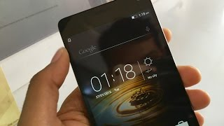 Lenovo Vibe P1 TURBO 3GB RAM 32GB ROM Unboxing ENGLISH