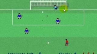 Drop kick game 6 goals vs Italy