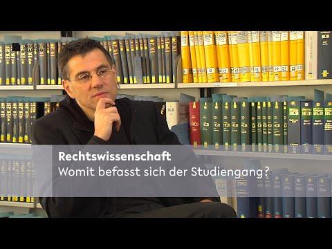 Studiengang Rechtswissenschaft