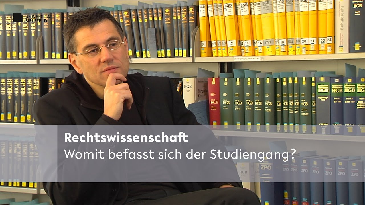 Rechtswissenschaft Studieren
