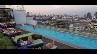 Hotel Royal Chinatown Bangkok rooftop pool (13.04.19)