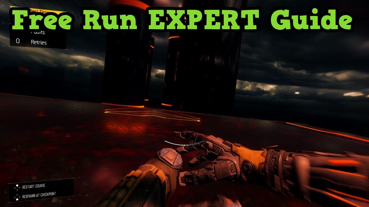 Black Ops 3 Free Run Blackout Expert Mode Guide Speed Run Youtube