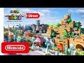 Let Shigeru Miyamoto take you on a tour of Super Nintendo World at Universal Studios Japan