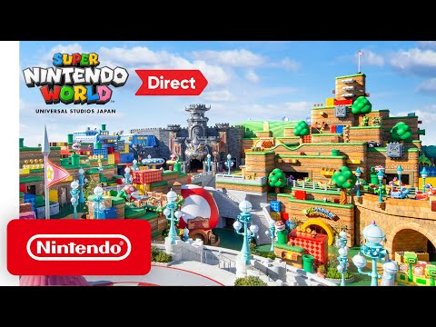 Super Nintendo World Direct 12.18.2020