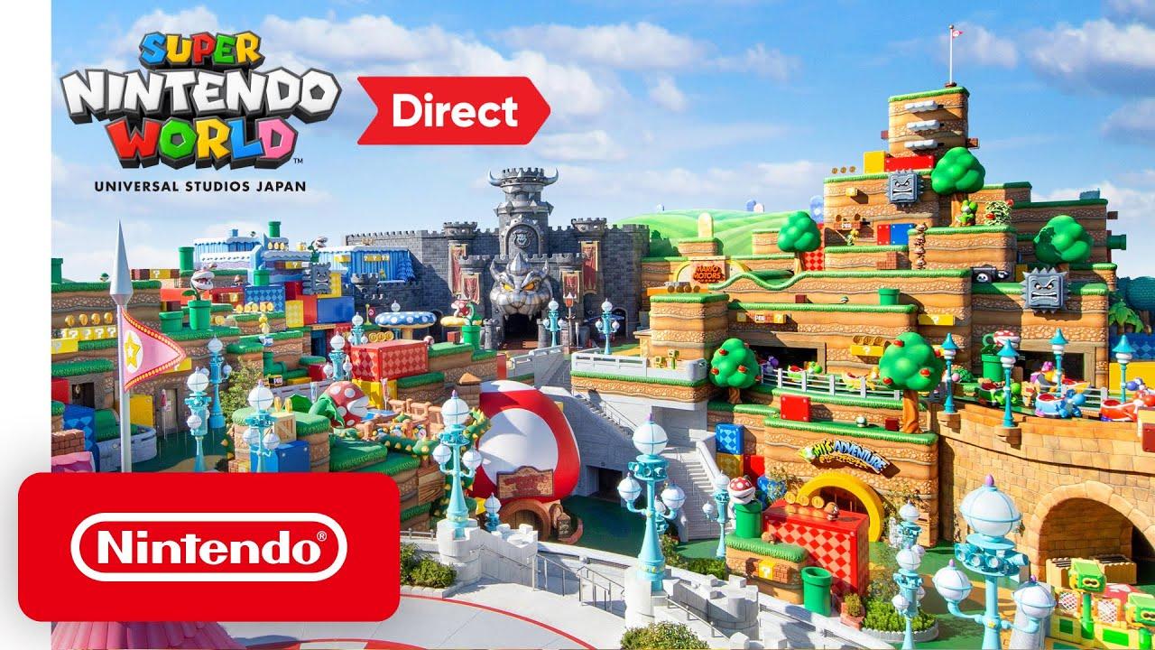 Take a Virtual Tour of the Super Nintendo World Theme Park