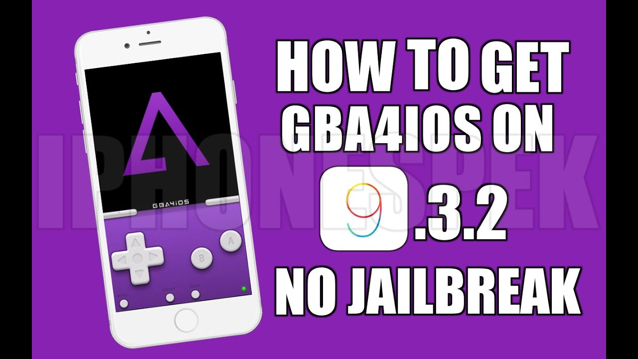 How to get GBA4IOS iOS 10 & 9 3 3 No JAILBREAK iPhone iPad iPod Touch