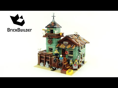 Lego Ideas 21310 Old Fishing Store - Lego Speed Build