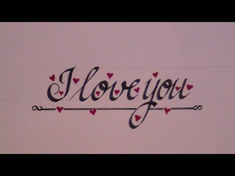cursive letters how to write cursive letters i love you for beginners