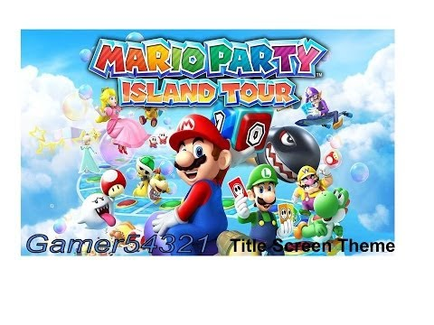 Title Screen - Mario Party: Island Tour OST