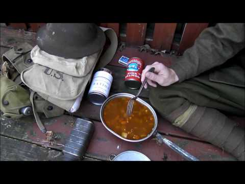 MRE Review: WWI US Doughboy Reserve Ration.