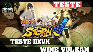 Naruto Ultimate Ninja Storm 4 DXVK // Wine 3.12 Staging via Lutris