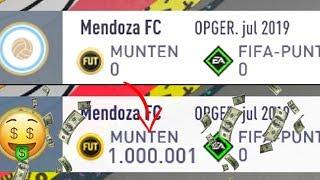 VAN 0 NAAR 1 MILJOEN COINS IN EEN WEEK (FIFA 20)
