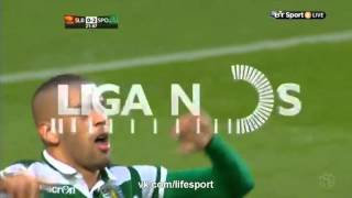 Benfica 0-3 Sporting English Goals & Highlights