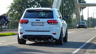 LOUD 2017 Jeep Grand Cherokee SRT-8 SOUNDS! Accelerations & More!