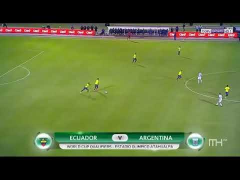 Download Argentina vs Ecuador 3-1 Highlights WC Qualifier - Messi Hatrick