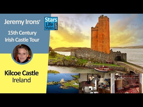 Jeremy Irons' 15th Century Irish Castle Tour | Kilcoe Castle, Ireland