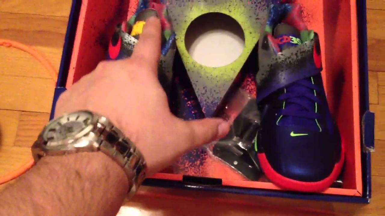 new concept 1a3ff cf38b Nike KD 4 Nerf - YouTube